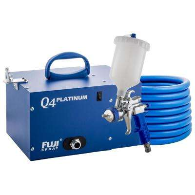 Q4 PLATINUM T75G Gravity HVLP Spray System