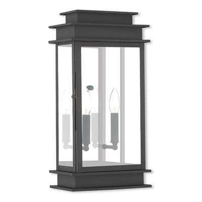 Princeton 2-Light Black Outdoor Wall Mount Lantern