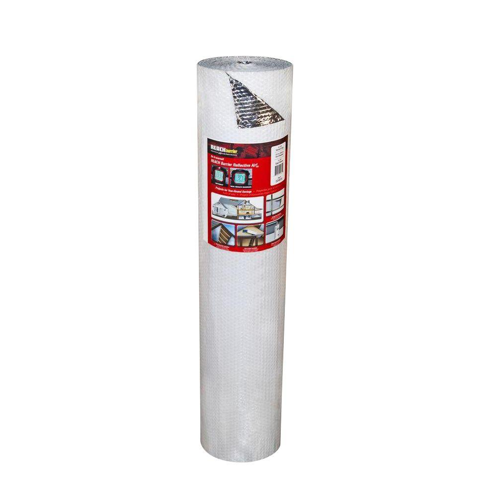 Reach Barrier 2 ft. x 10 ft. Single Reflective Insulation Roll with Single Air