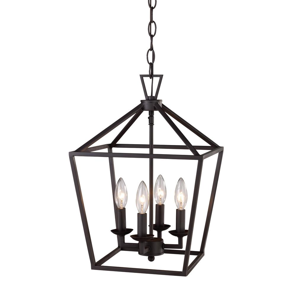 home and decor 4 light rubbed bronze pendant 10264 rob the 10264