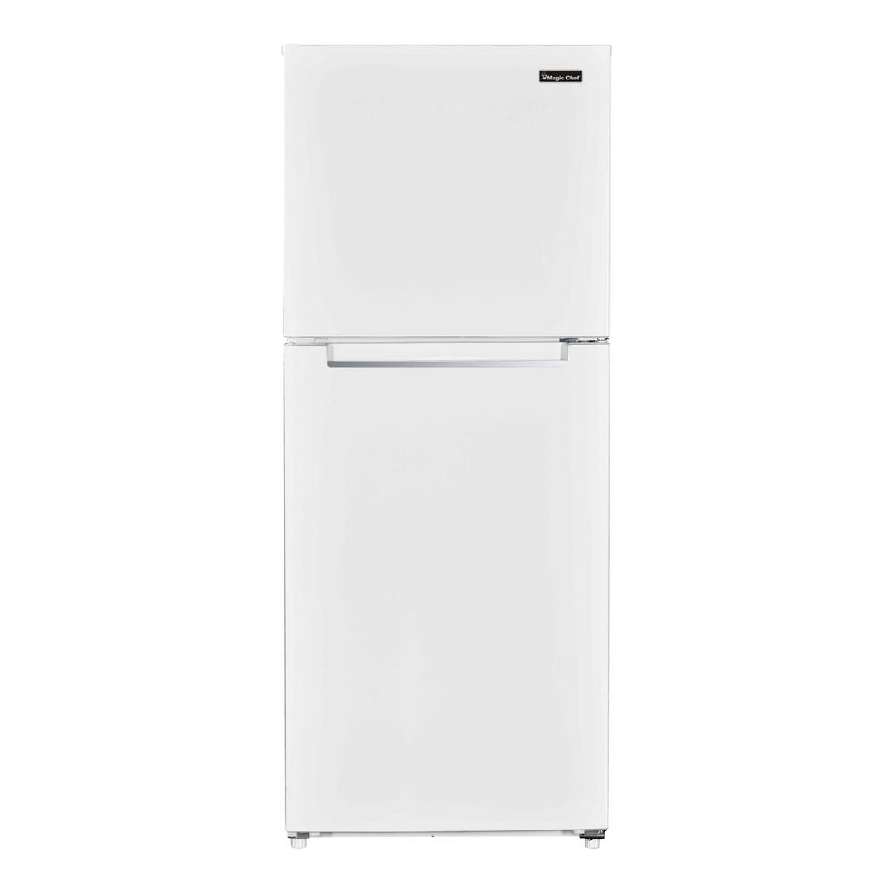 Magic Chef 10 1 cu  ft  Top Freezer Refrigerator in White