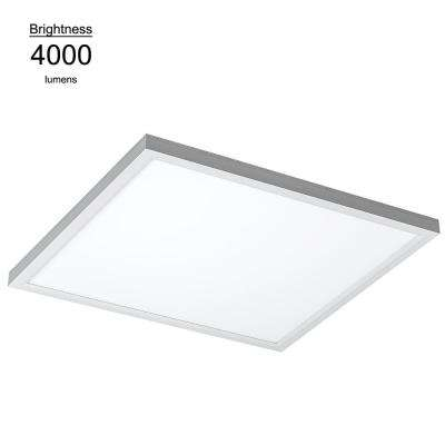 2 ft. x 2 ft. White Commercial Integrated LED 4000K Dimmable Drop Ceiling Flat Panel Troffer Light (2 Pack)