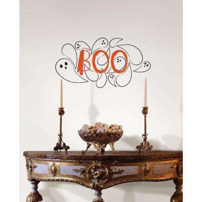17.25 in. x 19.5 in. Boo! Wall Quote