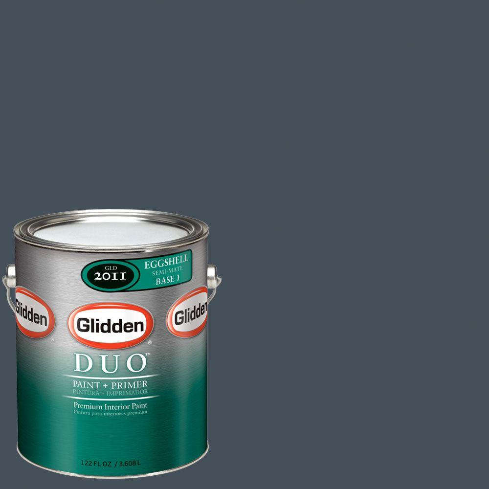 Glidden DUO Martha Stewart Living 1-gal. #MSL168-01E Wrought Iron Eggshell Interior Paint with Primer-DISCONTINUED