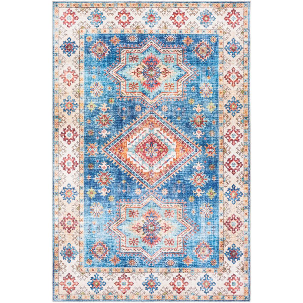 Artistic Weavers Melita Ice Blue 9 Ft X 12 Ft Area Rug S00161021295 The Home Depot