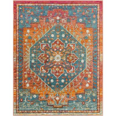 Kas Rugs Dreamweaver Multi Traditions 9 ft  x 13 ft  Area