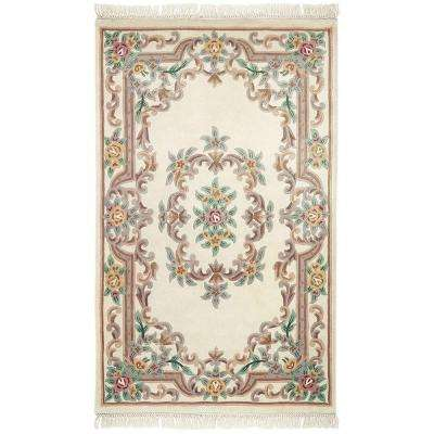 Imperial Ivory 9 ft. x 12 ft. Area Rug