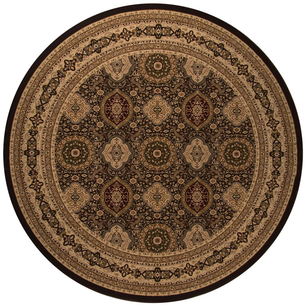 Momeni Lovely Brown 7 ft. 10 in. Indoor Round Area Rug