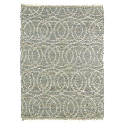 Kenwood Grey 8 ft. x 11 ft. Double Sided Area Rug