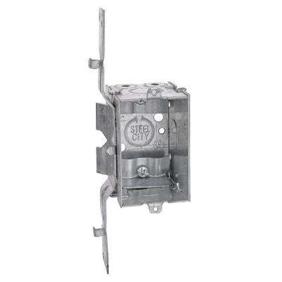 3 in. x 2-1/2 in. Deep Switch and Outlet Box with SV Clamp (Case of 25)