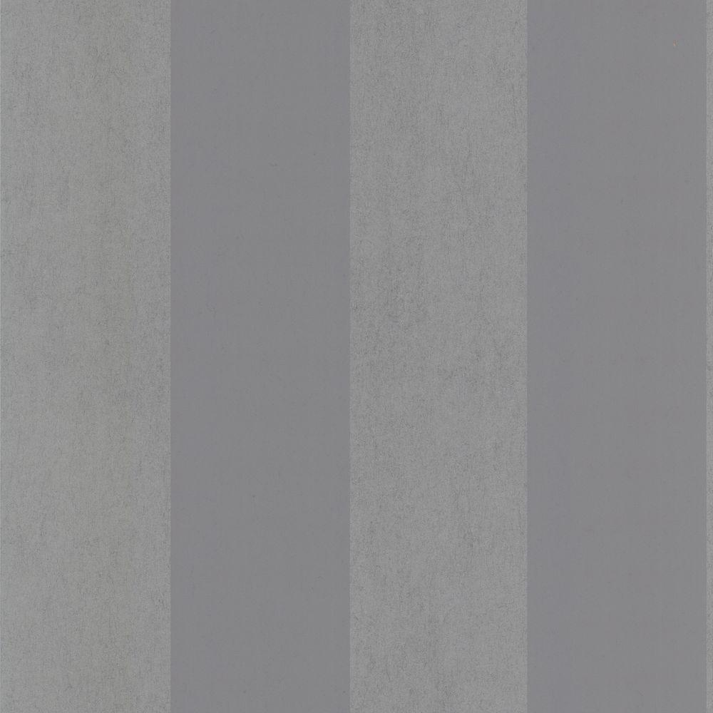 null Shimmer Grey Stripe Wallpaper