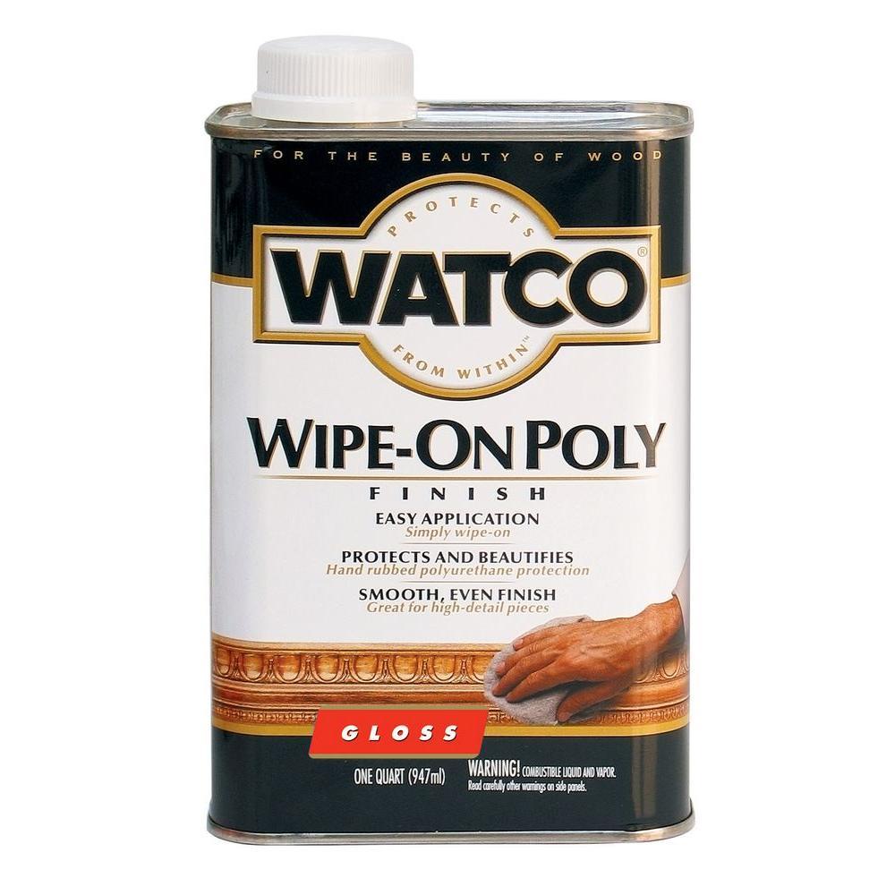Watco 1 Qt. Gloss Polyurethane Wipe-On