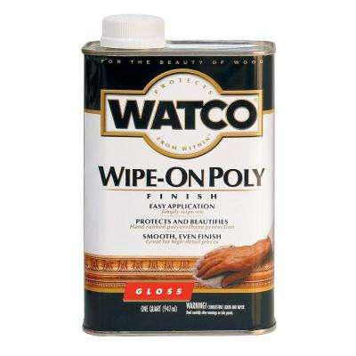 1 qt. Gloss Wipe-On Polyurethane (6-Pack)