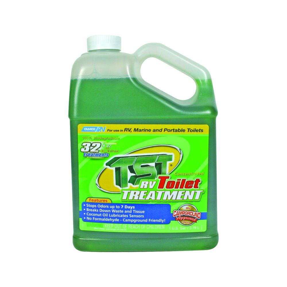Camco Tst 128 Oz Rv Toilet Treatment 40227 The Home Depot