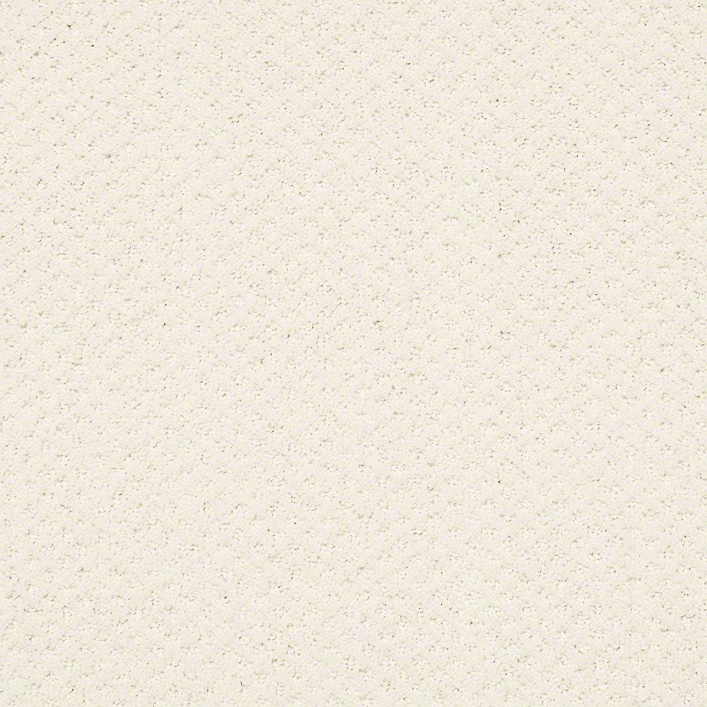 Carpet Sample Charm Square Color Winter White 8 In X