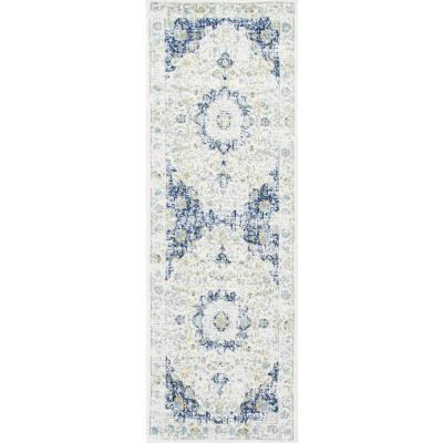 Verona Vintage Persian Blue 3 ft. x 8 ft. Runner
