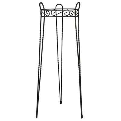 Canterbury Scroll Top Metal Plant Stand