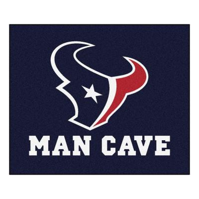 Houston Texans Blue Man Cave 5 ft. x 6 ft. Area Rug