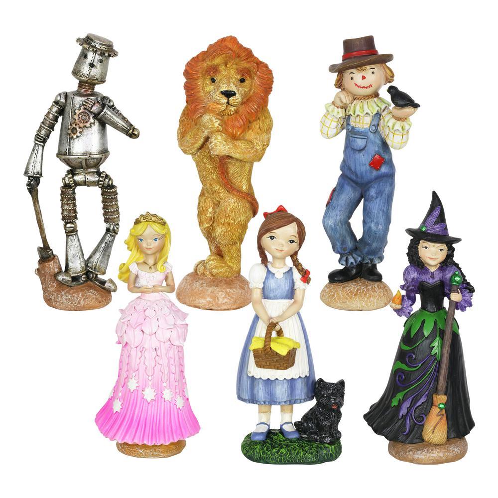 Oz Land Mini Fairy Tale Garden Statue (6-Pack)