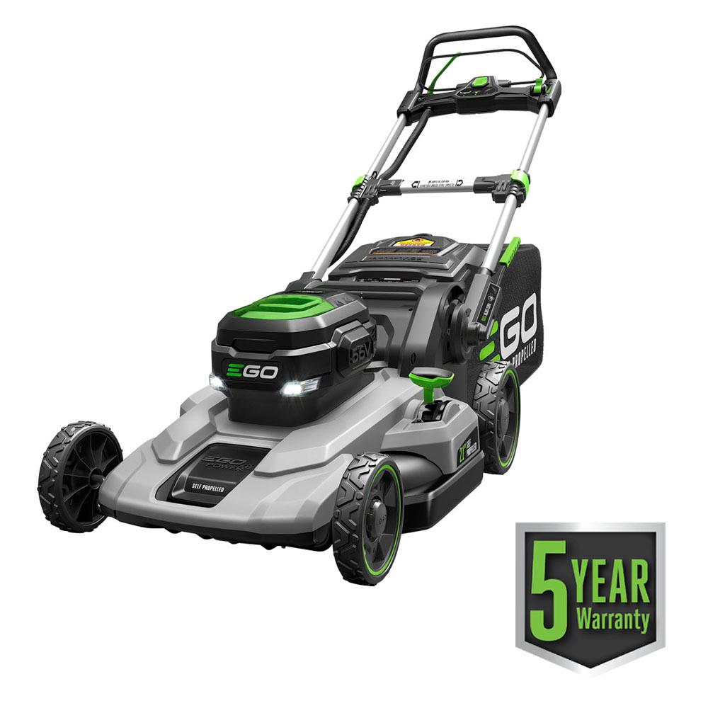 21 in. 56-Volt Lithium-ion Cordless Walk Behind Self Propelled Mower Kit - 7.5 Ah Battery/Charger Included