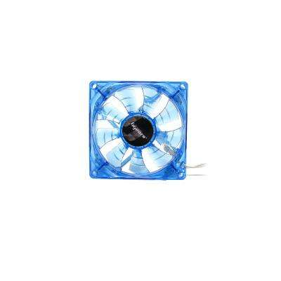 b-PWM 80 mm Blue 2 Ball Bearing PWM Blue LED 12-Volt DC Fan, Blue