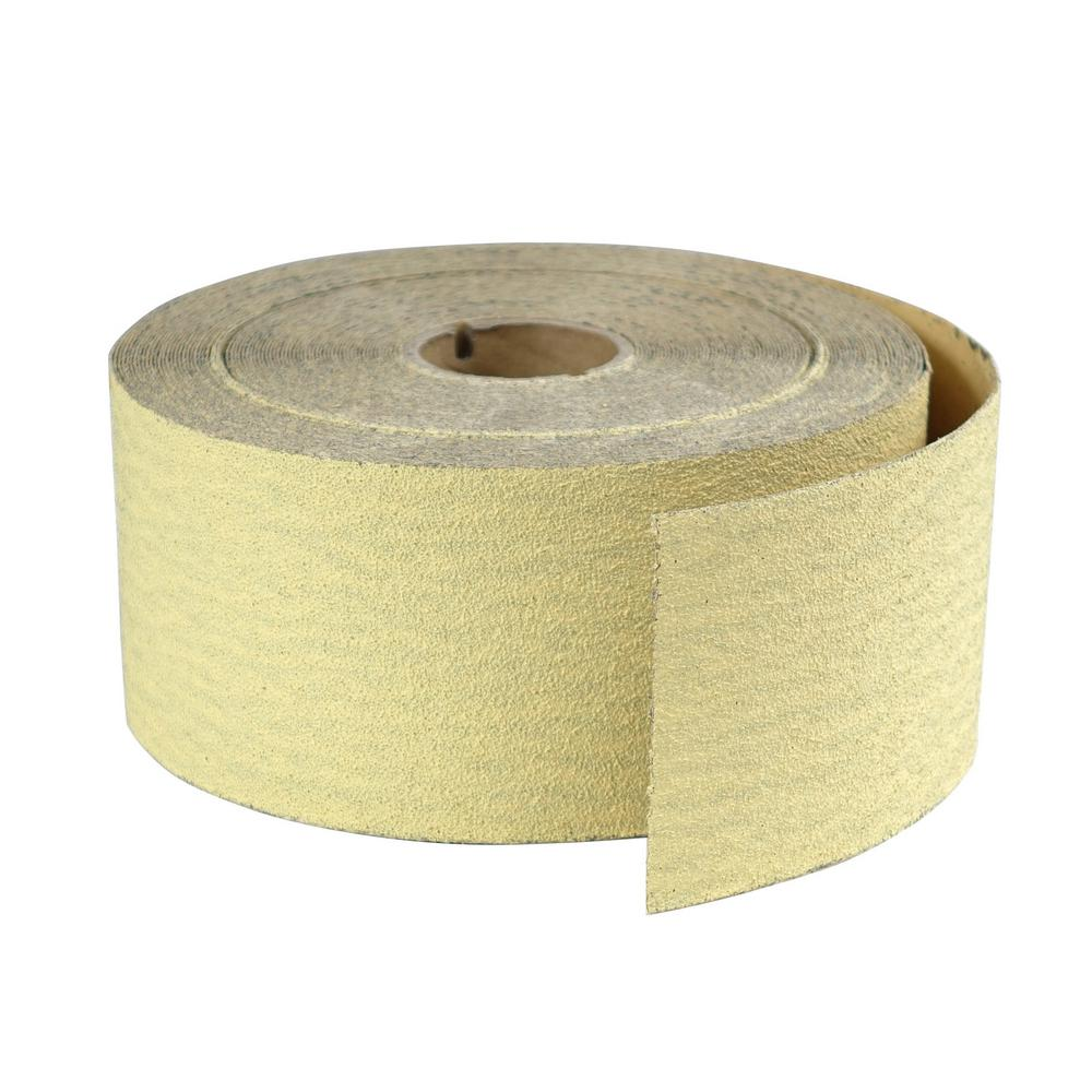 X 25 Ft 120 Grit Sandpaper Roll 2-3//4 In