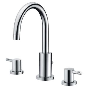ANZZI Lien Series 2-Handle Lever Deck-Mount Roman Tub Faucet with Handheld... by ANZZI