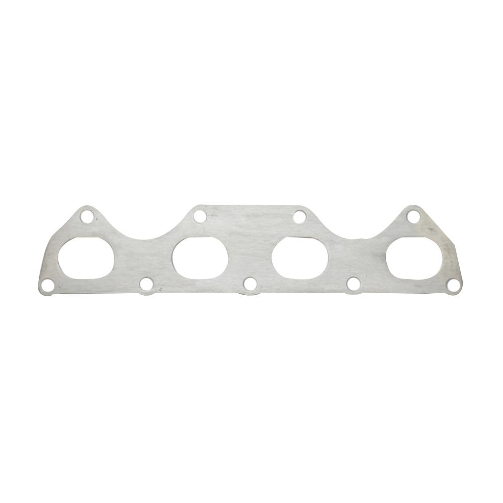 vibrant performance mild steel exhaust manifold flange for