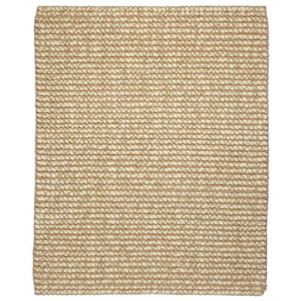 Zatar Beige/Tan 10 ft. x 14 ft. Area Rug