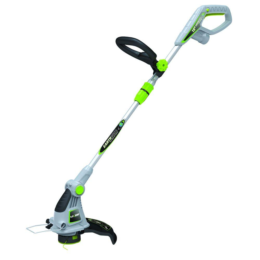 15 in. Electric Corded String Grass Trimmer