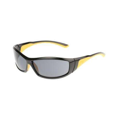 Safety Glasses Grit Smoke Lens with Case