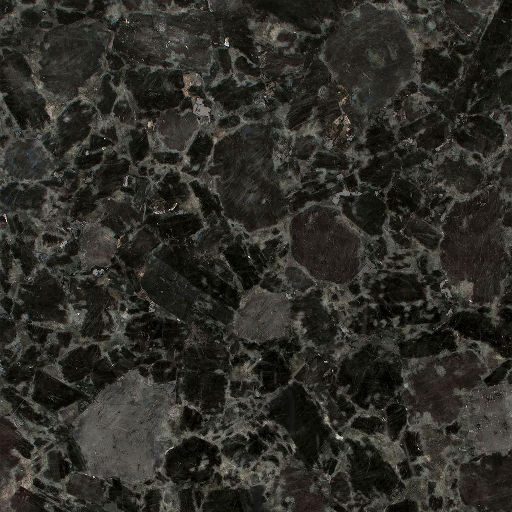 Stonemark granite 3 in x 3 in granite countertop sample in volga blue
