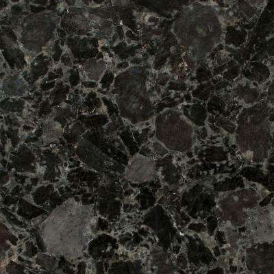 3 in. x 3 in. Granite Countertop Sample in Volga Blue