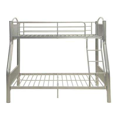 Cayelynn Silver Twin Over Full Bunk Bed