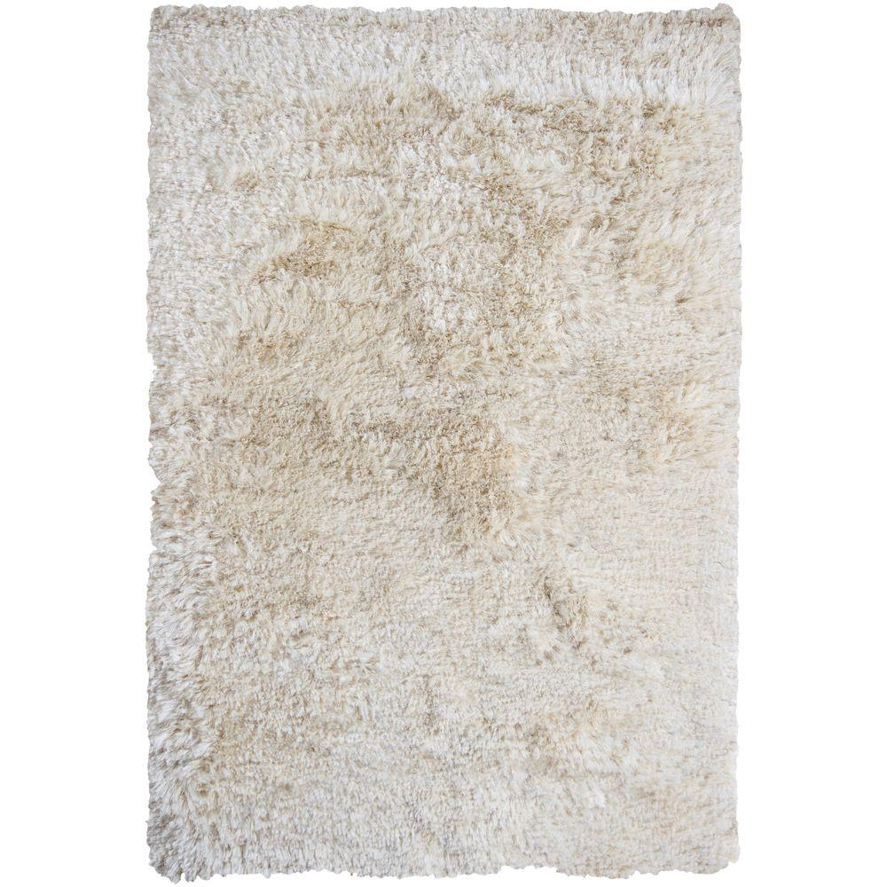 Chandra Celecot Off White 9 ft. x 13 ft. Indoor Area Rug