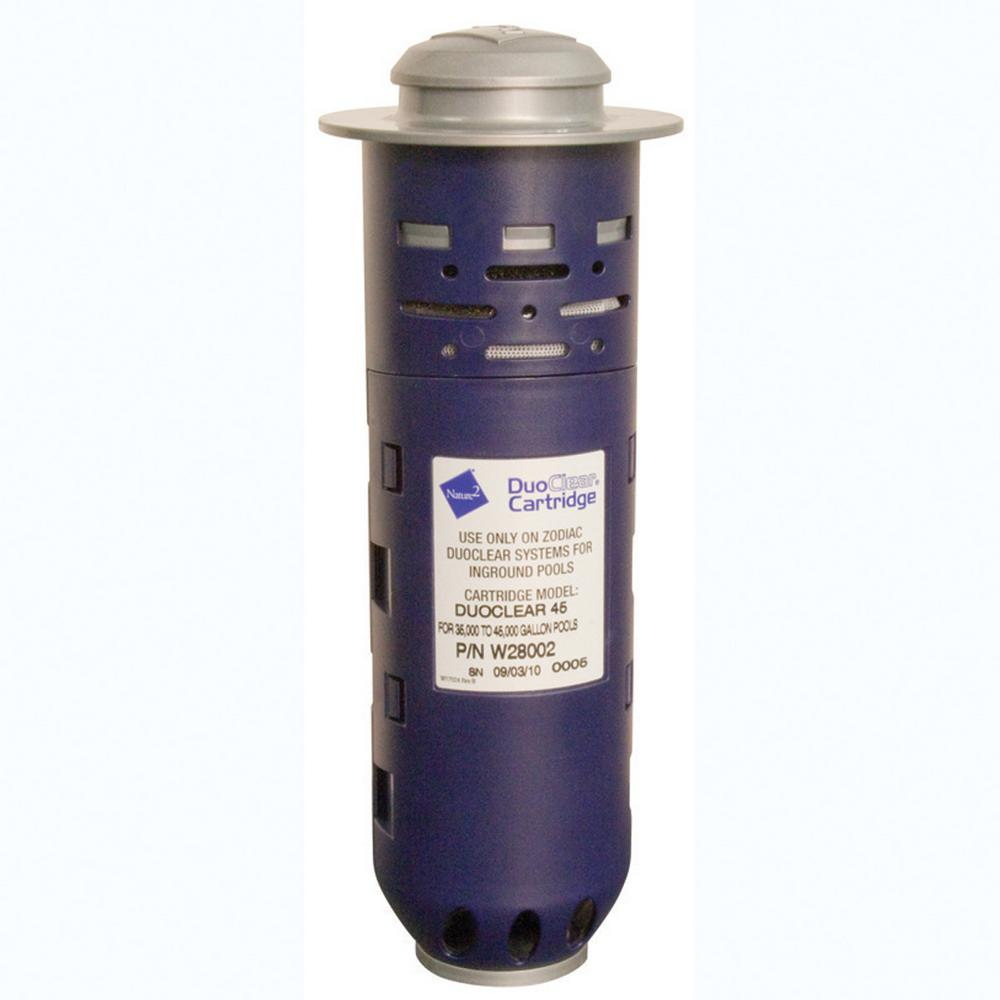 DuoClear Pool Sanitizer Replacement Cartridge for 45,000 ...