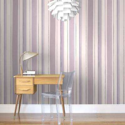 Waterfall Lavender Removable Wallpaper