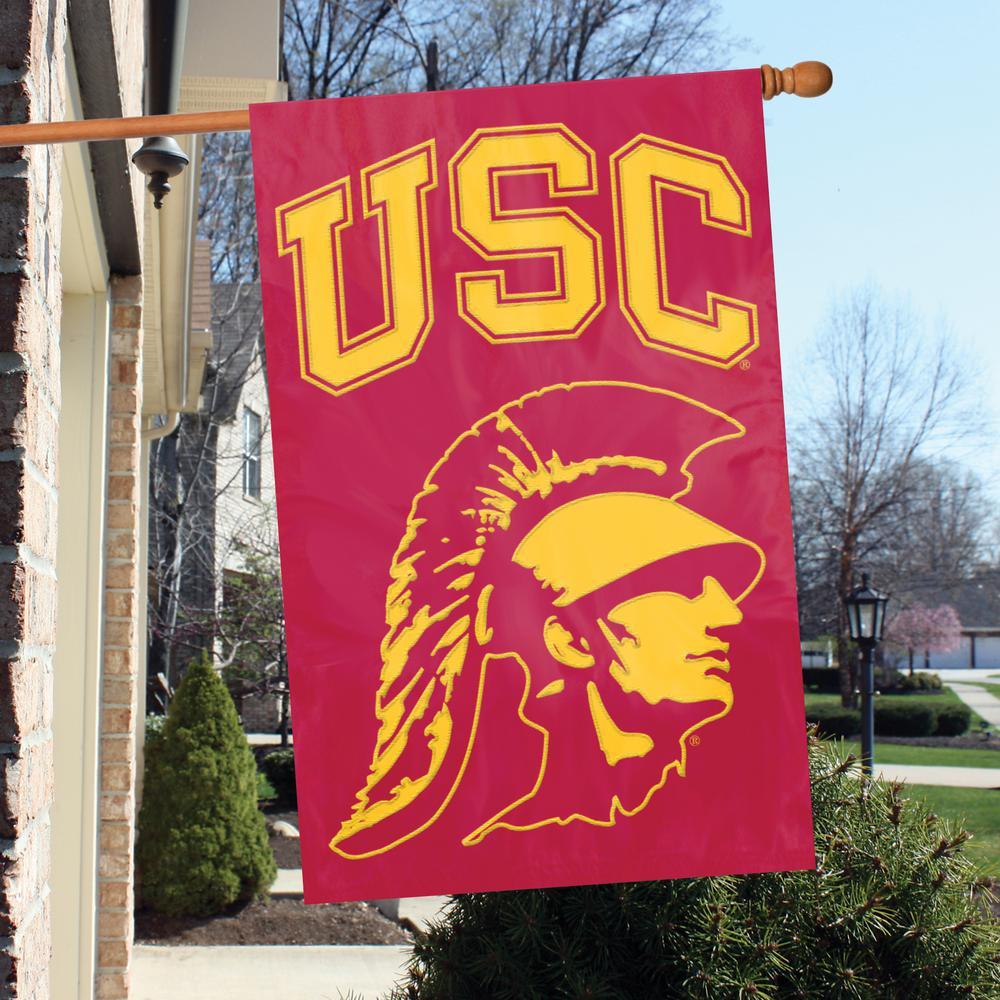 USC Trojans Applique Banner Flag Trojan