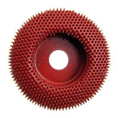 Merlin2 Disc Coarse Red Carbide