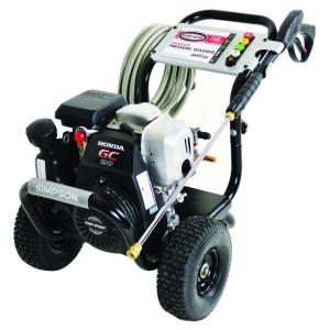 Simpson MegaShot 3,200 PSI 2.5 GPM Gas Pressure Washer Powered by Honda by Simpson