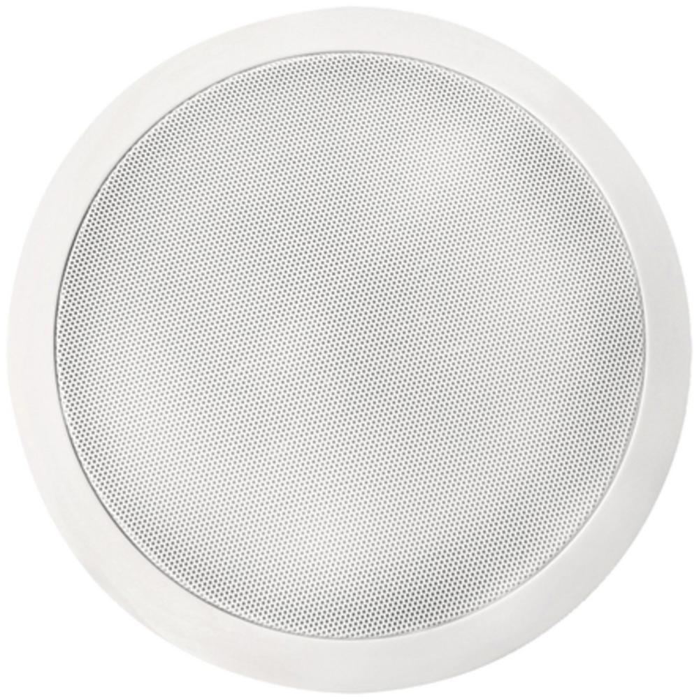 bic america 125 watt 8 in dual voice coil stereo in ceiling speaker msr8d the home depot. Black Bedroom Furniture Sets. Home Design Ideas