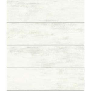 Magnolia Home by Joanna Gaines-56 sq. ft. Shiplap Removable Wallpaper