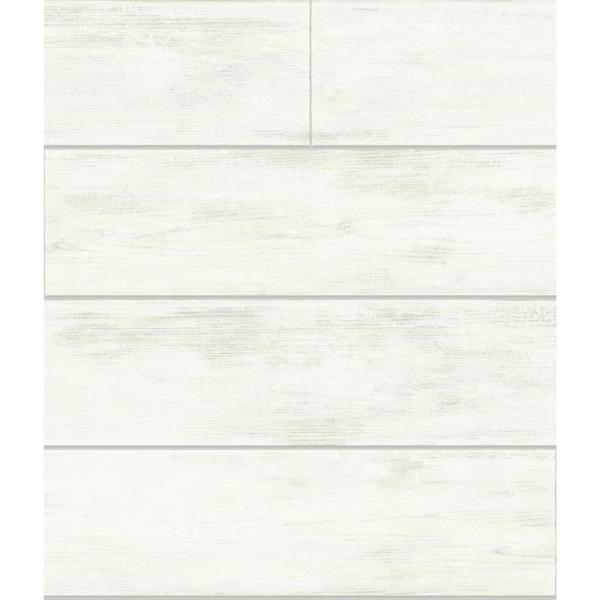 Magnolia Home by Joanna Gaines 56 sq. ft. Shiplap Removable Wallpaper