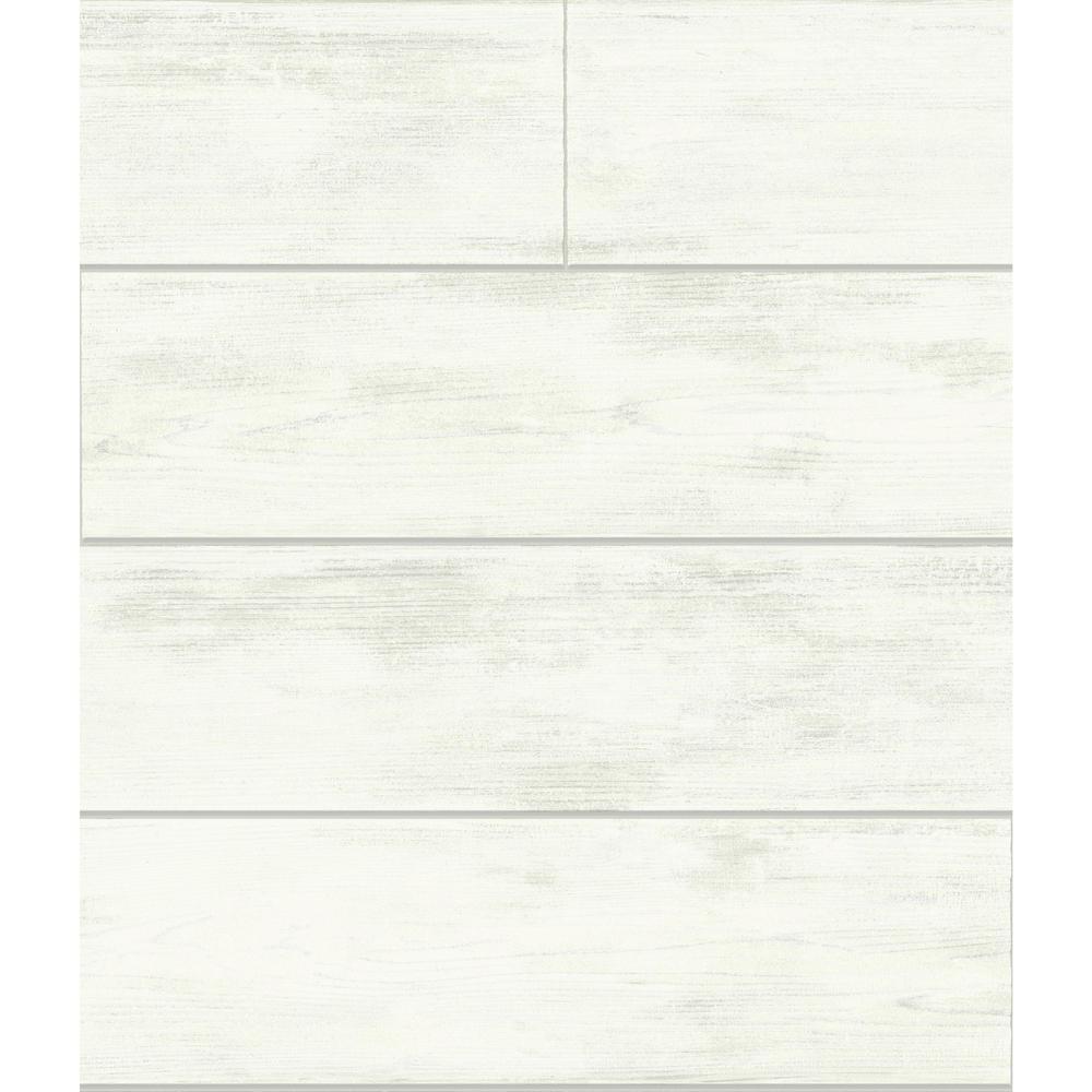 56 sq. ft. Shiplap Removable Wallpaper