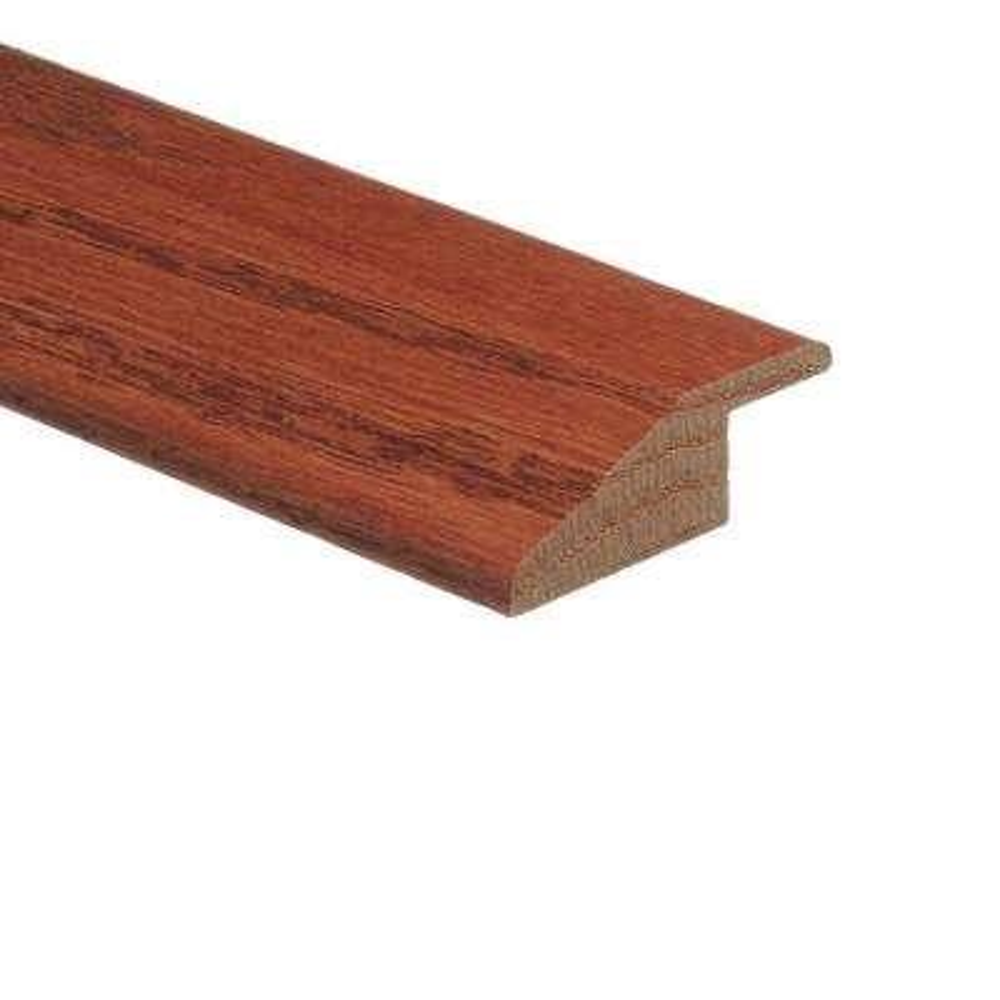 Oak Gunstock 3/8 in. Thick x 1-3/4 in. Wide x 94 in. Length Hardwood Multi-Purpose Reducer Molding