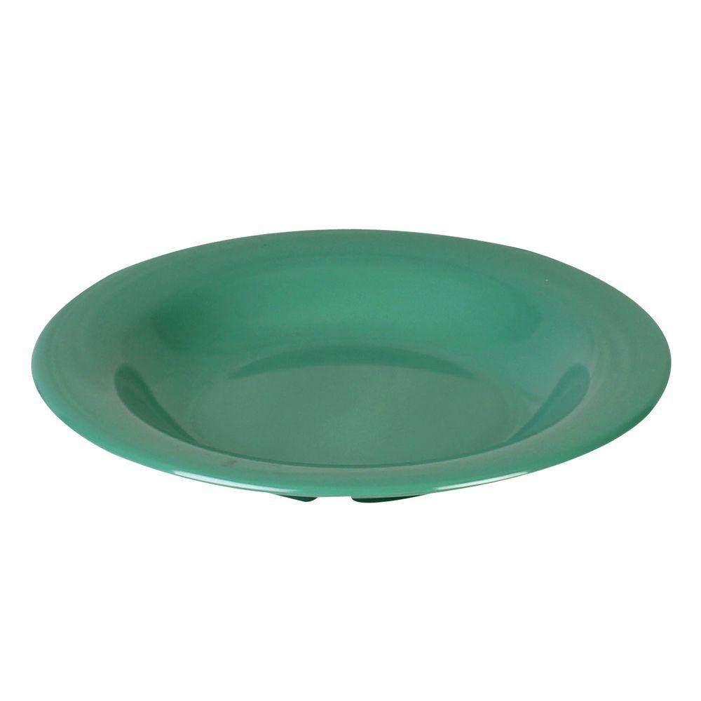Coleur 13 oz., 9-1/4 in. Salad Bowl in Green (12-Piece)