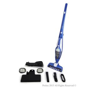 Prolux Ion Battery Powered Bagless Cordless Stick Vacuum with Extra Filters by Prolux