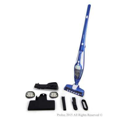 Ion Battery Powered Bagless Cordless Stick Vacuum with Extra Filters