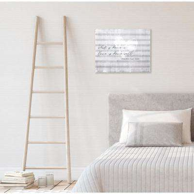 """20 in. W x 15.75 in. H Done in Love"""" by SMD Printed Wall Art"""