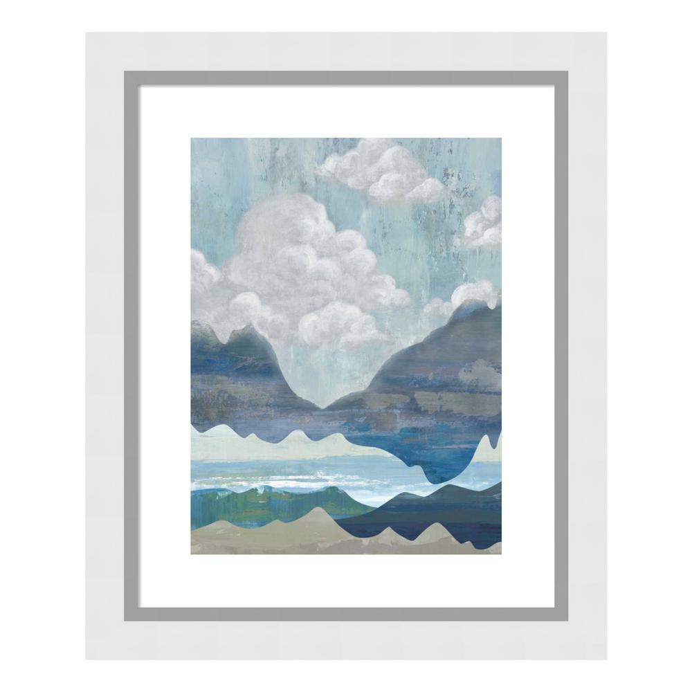 """Cloudy Mountains I"" by Andrea Ciullini Framed Wall Art"